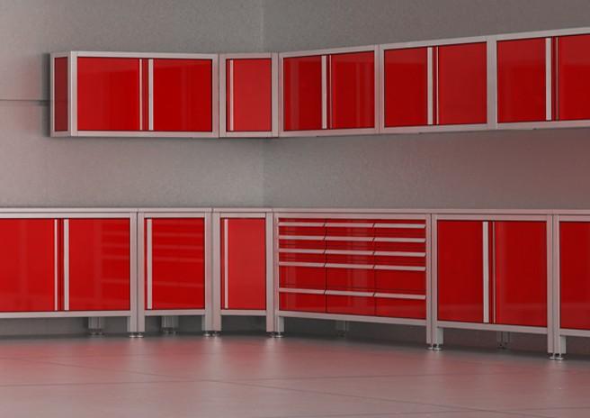 MASCAN Eck-Edelstahlmodule - Wand- und Bodenmodule