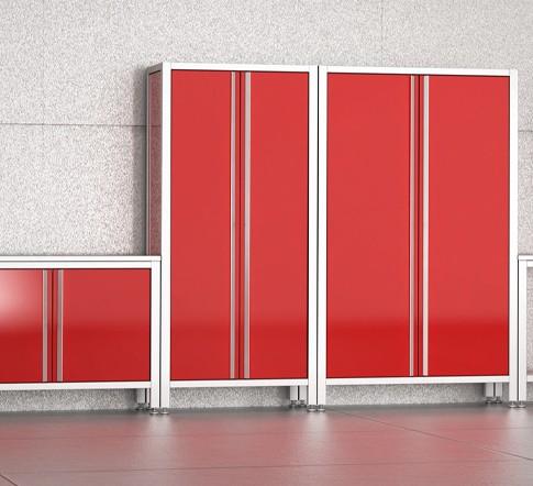 Bodenmodule in rot von MASCAN