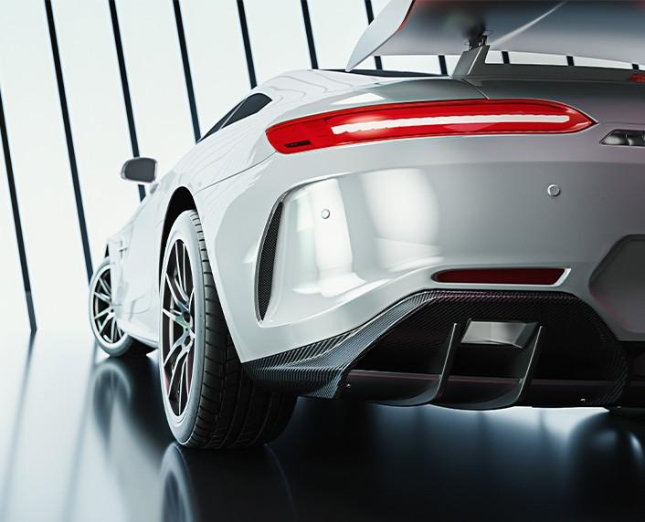 MASCAN Sportwagen - Sportwagengarage - Luxusgarage mit Edelstahlmodulen